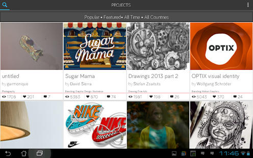 Sharpee - powered by Behance - screenshot thumbnail