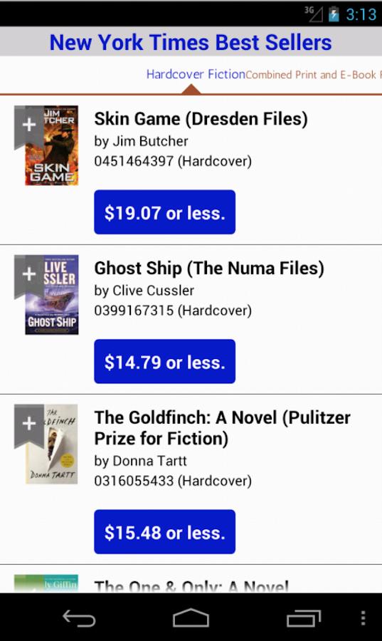 BookBargain Free & Cheap books - screenshot