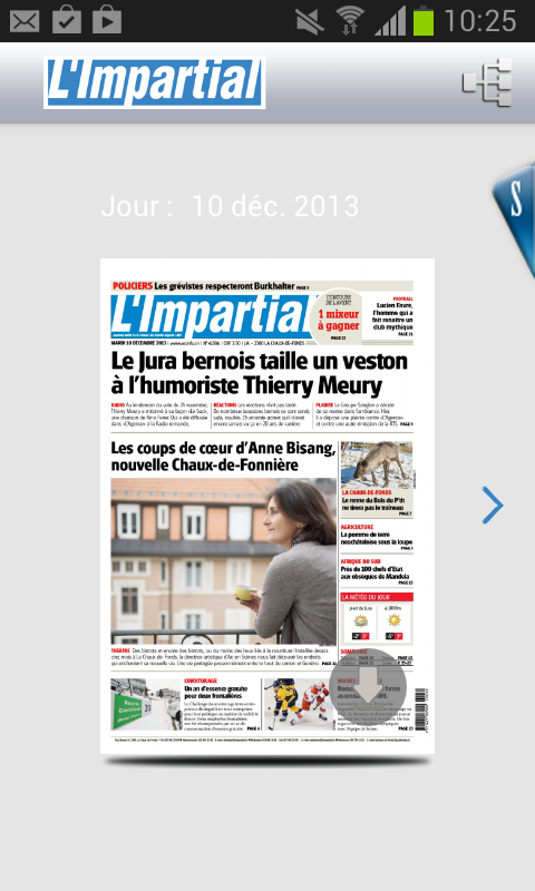 L'Impartial journal- screenshot