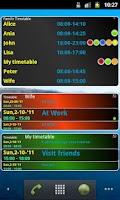 Screenshot of Smart Timetable Planner 3.0