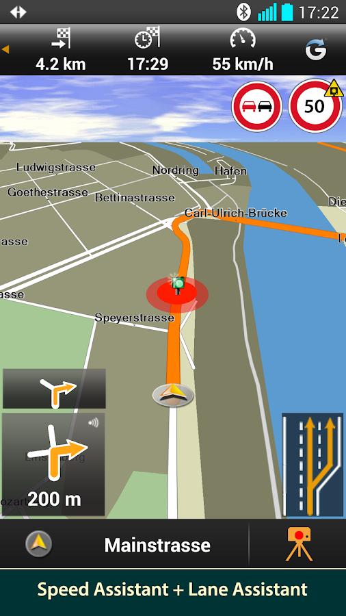 NAVIGON Nordics - screenshot