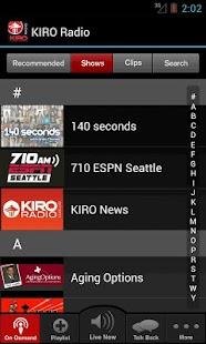 KIRO Radio - screenshot thumbnail