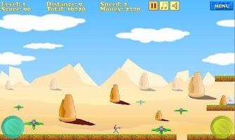 Screenshot of Jet Runner