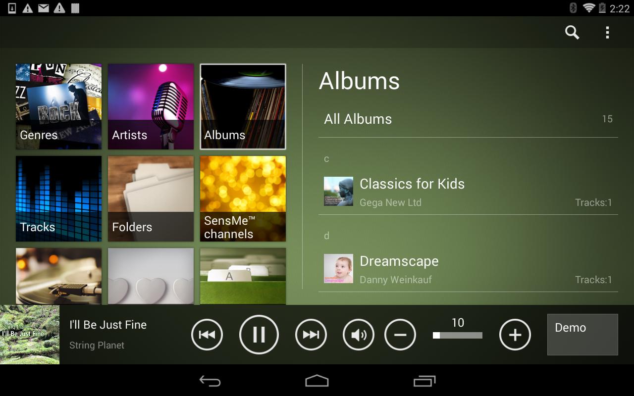 HDD Audio Remote - screenshot
