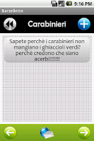 Screenshot of Barzellette - Italian Jokes