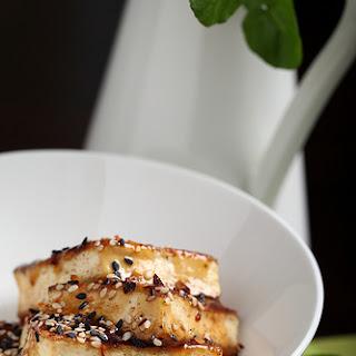 Easy Sesame Glazed Tofu.