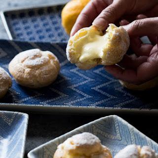 Meyer Lemon Cream Puffs