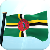 Dominica Flag 3D Free