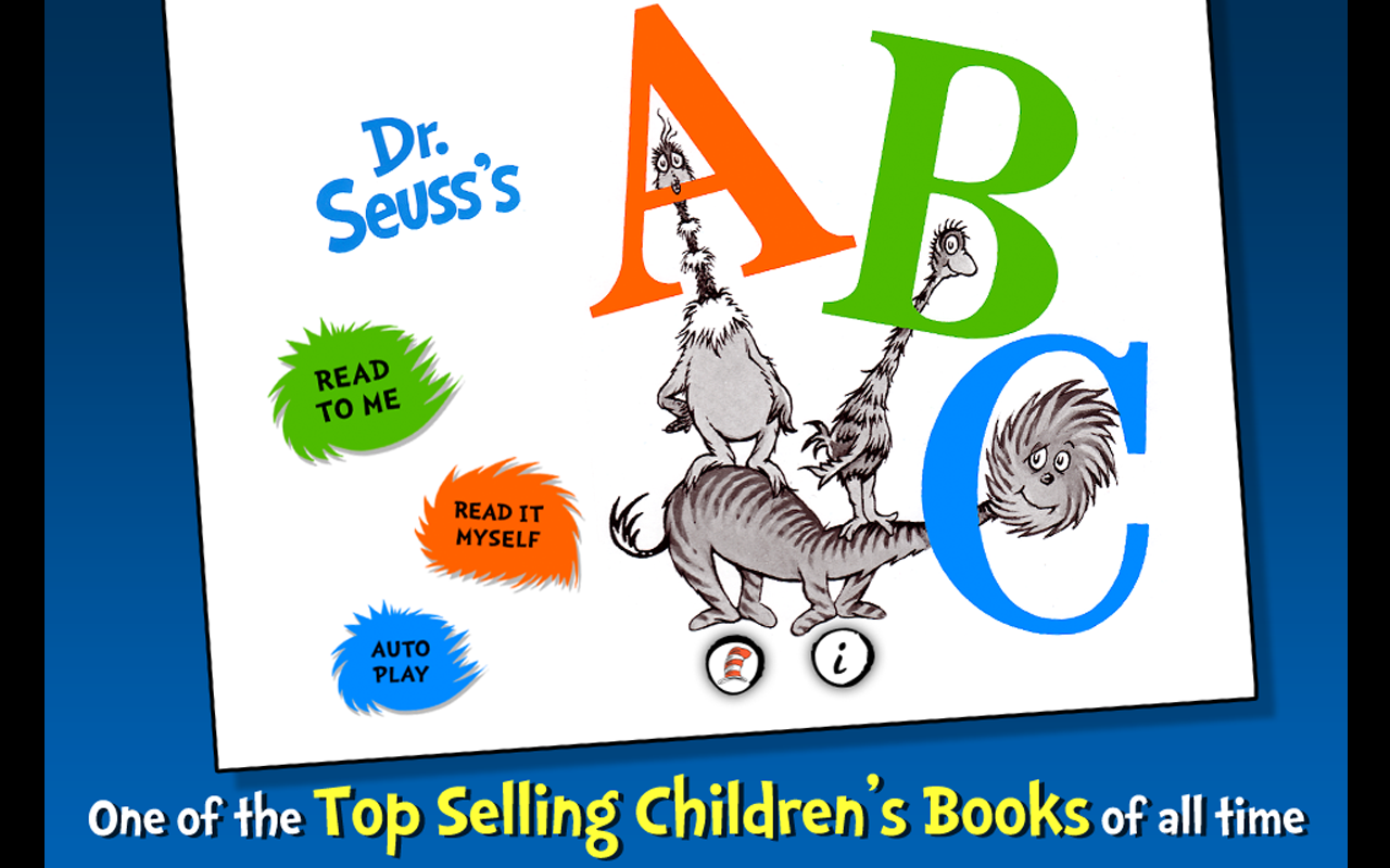 Dr. Seuss's ABC- screenshot