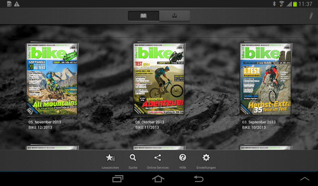 BIKE Das Mountainbike Magazin- screenshot