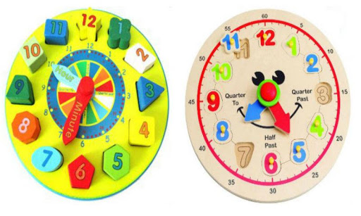 ABC Clock Games