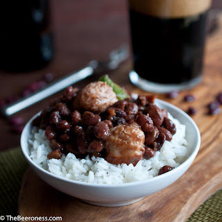 Slow Cooker Stout Red Beans and Rice.