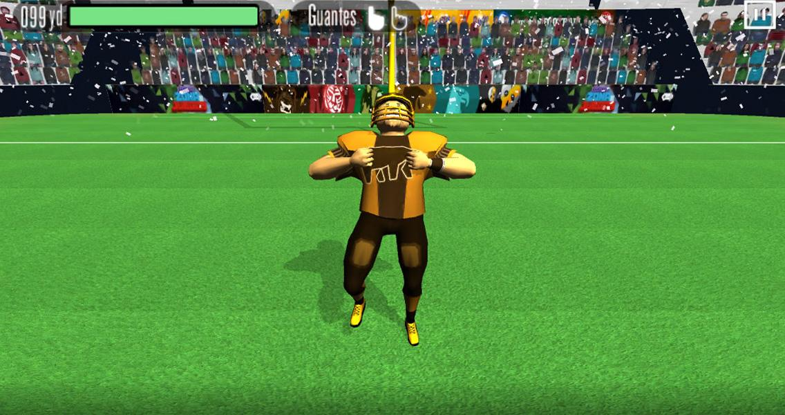 American Football Race - screenshot
