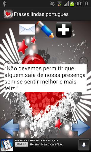 玩免費生活APP|下載Frases lindas portugues app不用錢|硬是要APP