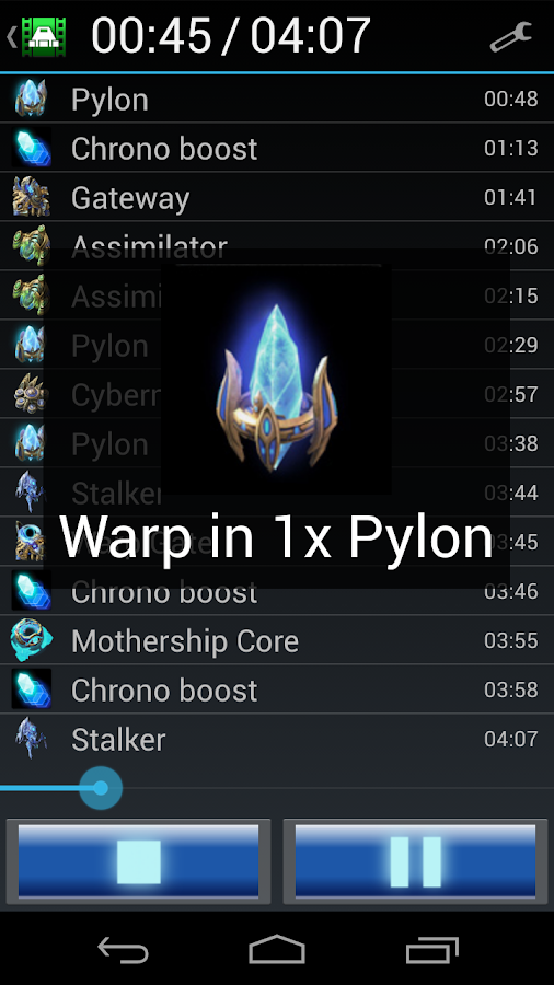 StarCraft 2 Build Player - screenshot