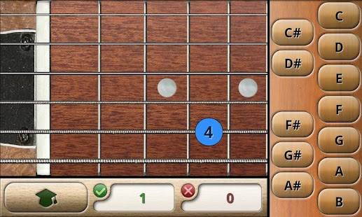 Music Tutor Fret Master Lite- screenshot thumbnail