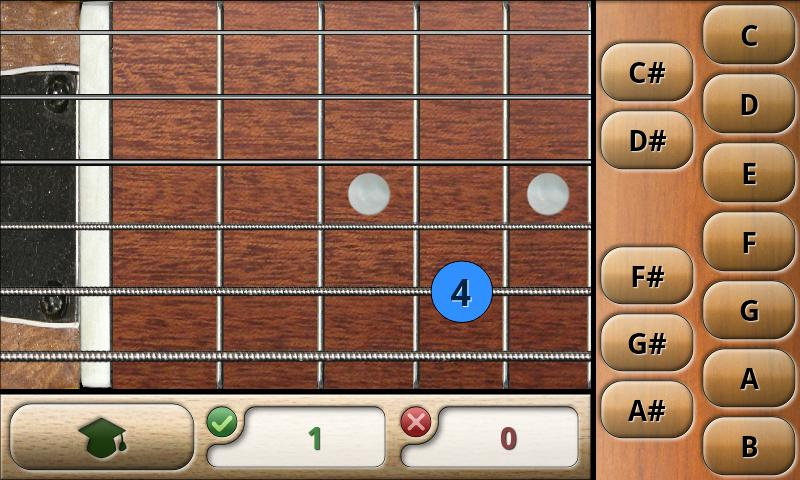 Music Tutor Fret Master Lite- screenshot