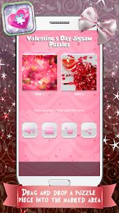 Valentine's Day Jigsaw Puzzles Screenshot 1