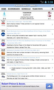Citadel Football & Basketball - screenshot thumbnail