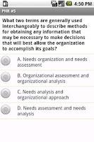 Screenshot of PHR Human Resources Exam Prep