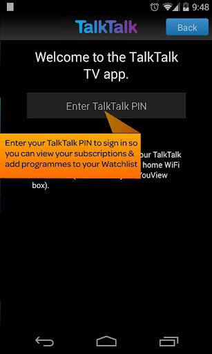 TalkTalk TV Beta
