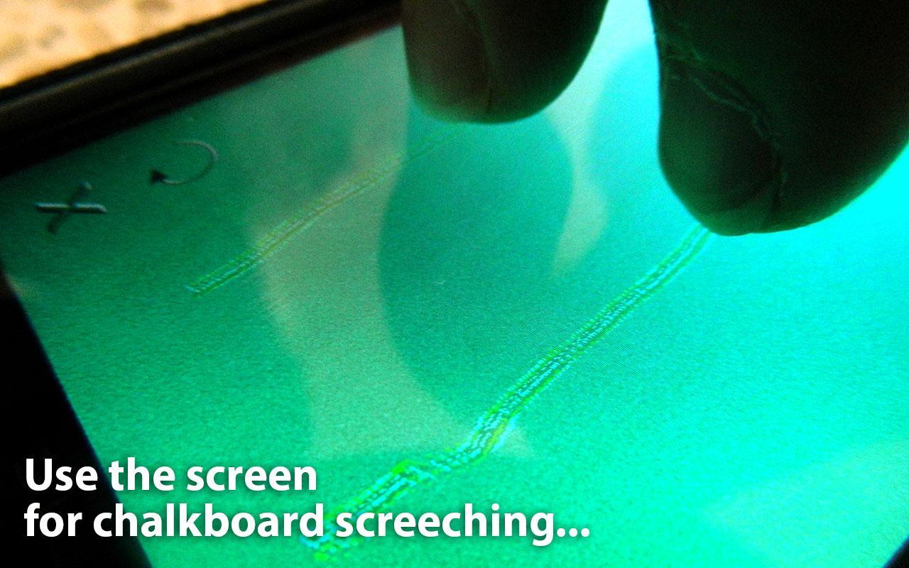 Chalkboard Screech - screenshot
