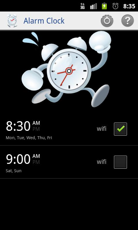 Alarm Clock,wake up guaranteed - screenshot