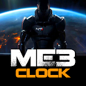 ME3 Clock logo