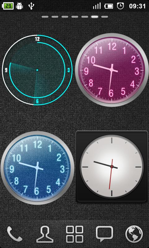 GO Clock Widget- screenshot