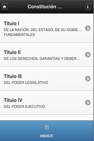 Constitucion Dominicana - screenshot