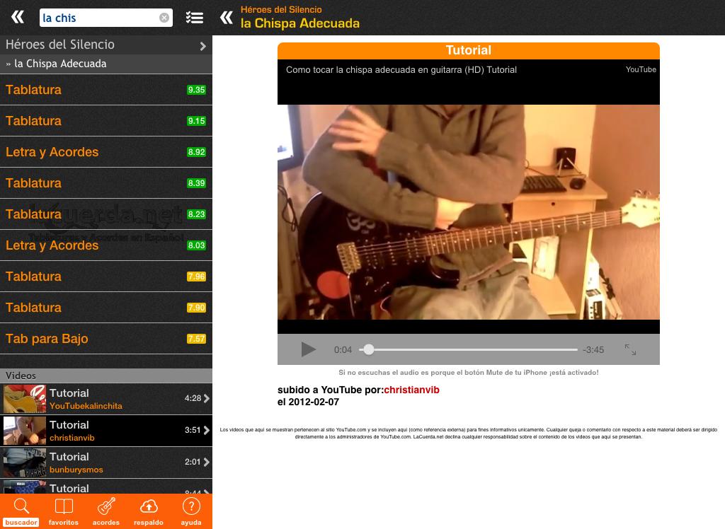 Latin Chords (LaCuerda PRO) - screenshot