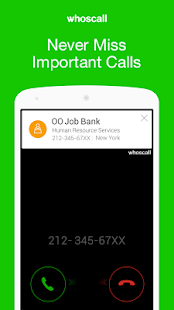 Whoscall- Caller ID&Block - screenshot thumbnail