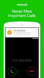 Whoscall- Caller ID&Block - screenshot thumbnail