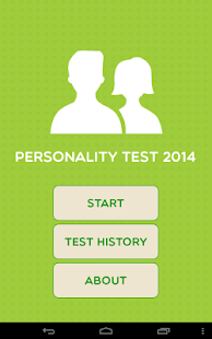 Personality Test 2014
