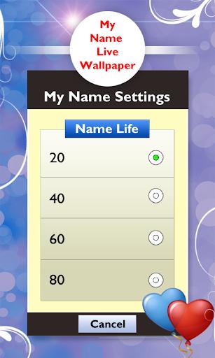 【免費個人化App】My Name Live Wallpaper-APP點子