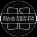 Next Launcher Theme BlkCircles icon