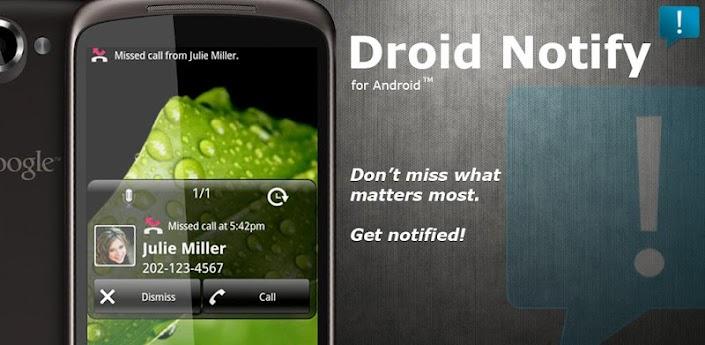 Droid Notify Pro v3.8