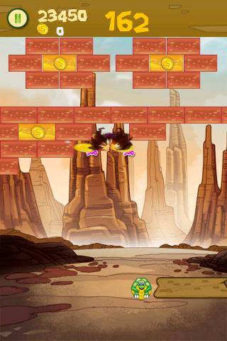 Brick Breaker Turtle - screenshot