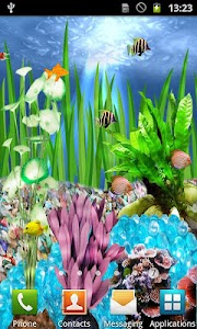 Fish Aquarium Live Wallpaper screenshot 0