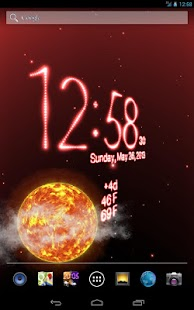 Weather Live Wallpaper - screenshot thumbnail