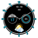 Super Clock Widget [Free] icon