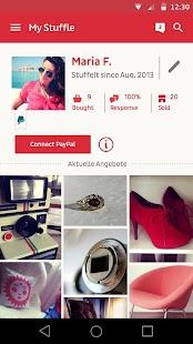Stuffle the mobile flea market - screenshot thumbnail