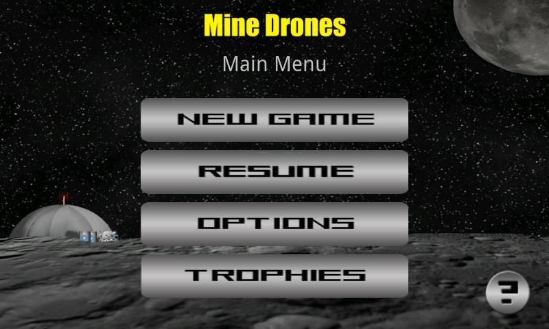 Mine Drones- screenshot
