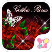 icon & wallpaper-Gothic Roses-