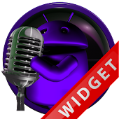 Poweramp Widget Purple Droid 5