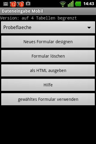 Dateneingabe Mobil Pro