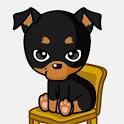 카톡 테마 강아지 미니핀 (카카오톡 배경) icon