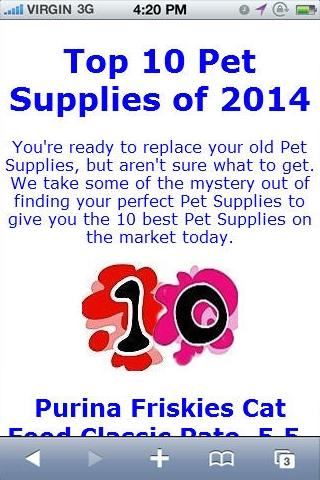 Pet Supply of 2014