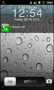 iOS 6 iPhone 5 lockscreen - screenshot thumbnail