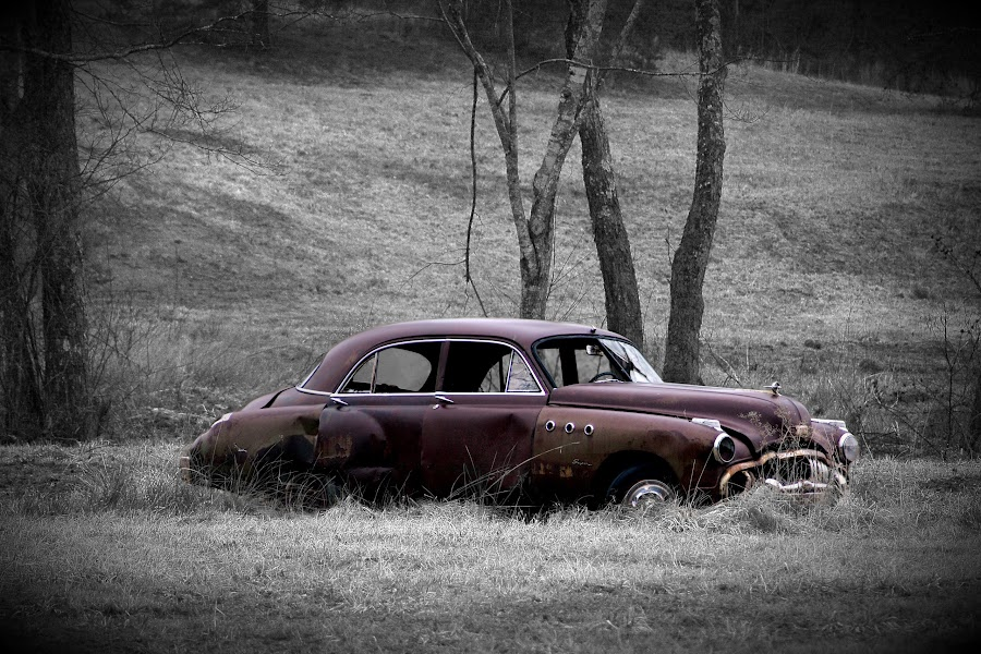Plymoth by Paul Mays - Transportation Automobiles ( car, old, automobile, antique, kentucky,  )